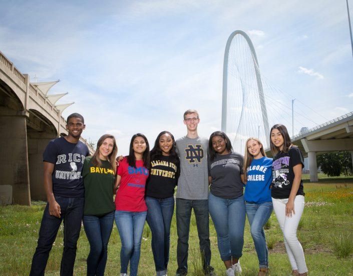 Best Dallas School Marketing Photography from Gloria Nieto Photography in Dallas Fort Worth Texas - Best Dallas Photographer for Schools - Private School Marketing for Bishop Dunne Catholic School